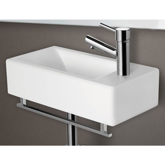 Alfi Brand Ab108 Small Modern, Wall Mount Sinks For Small Bathrooms